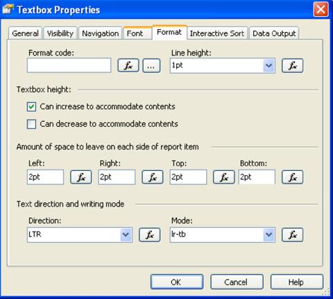 Sql Server 2005 Mettre En Forme Son Rapport Avec